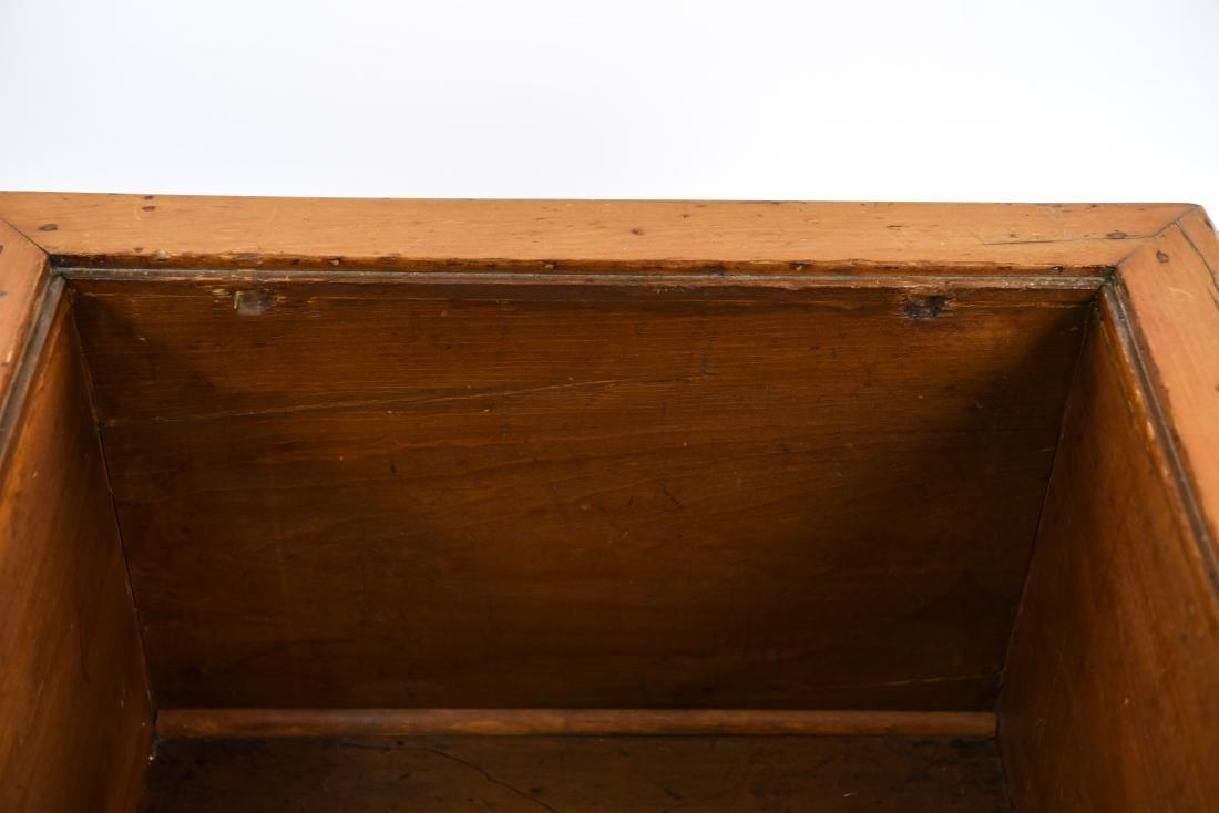 PINE DROP LEAF TABLE W/ LEAVES - 9