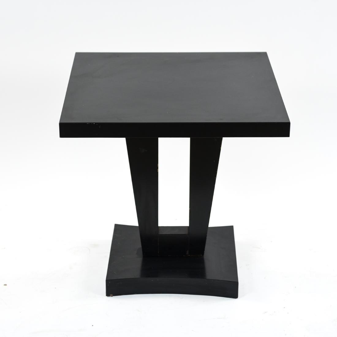MID-CENTURY KEYHOLE TABLE