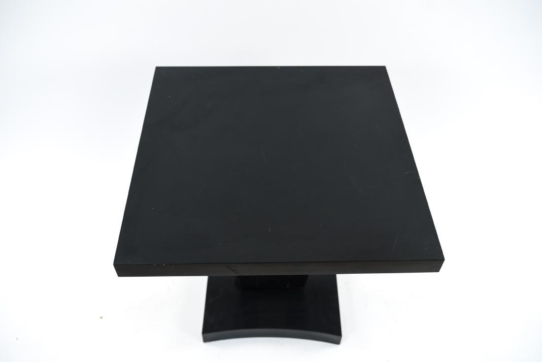 MID-CENTURY KEYHOLE TABLE - 3