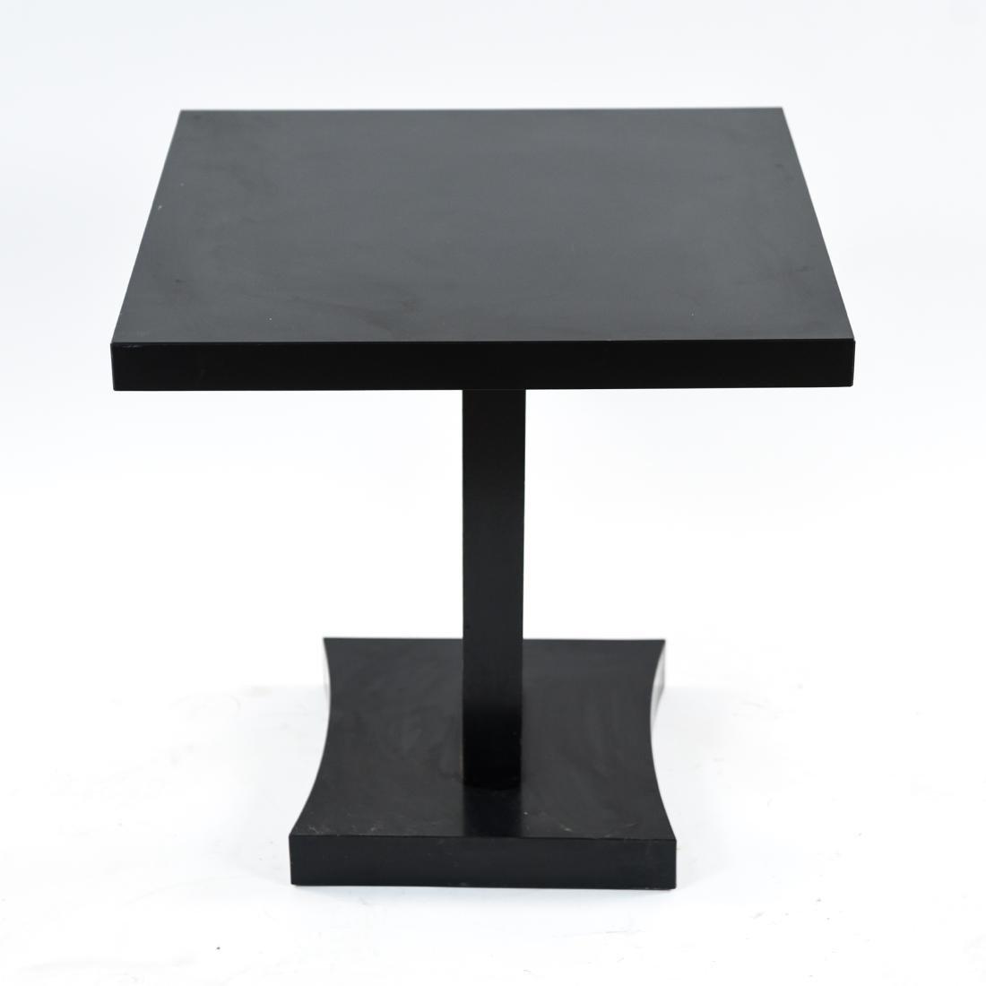 MID-CENTURY KEYHOLE TABLE - 7