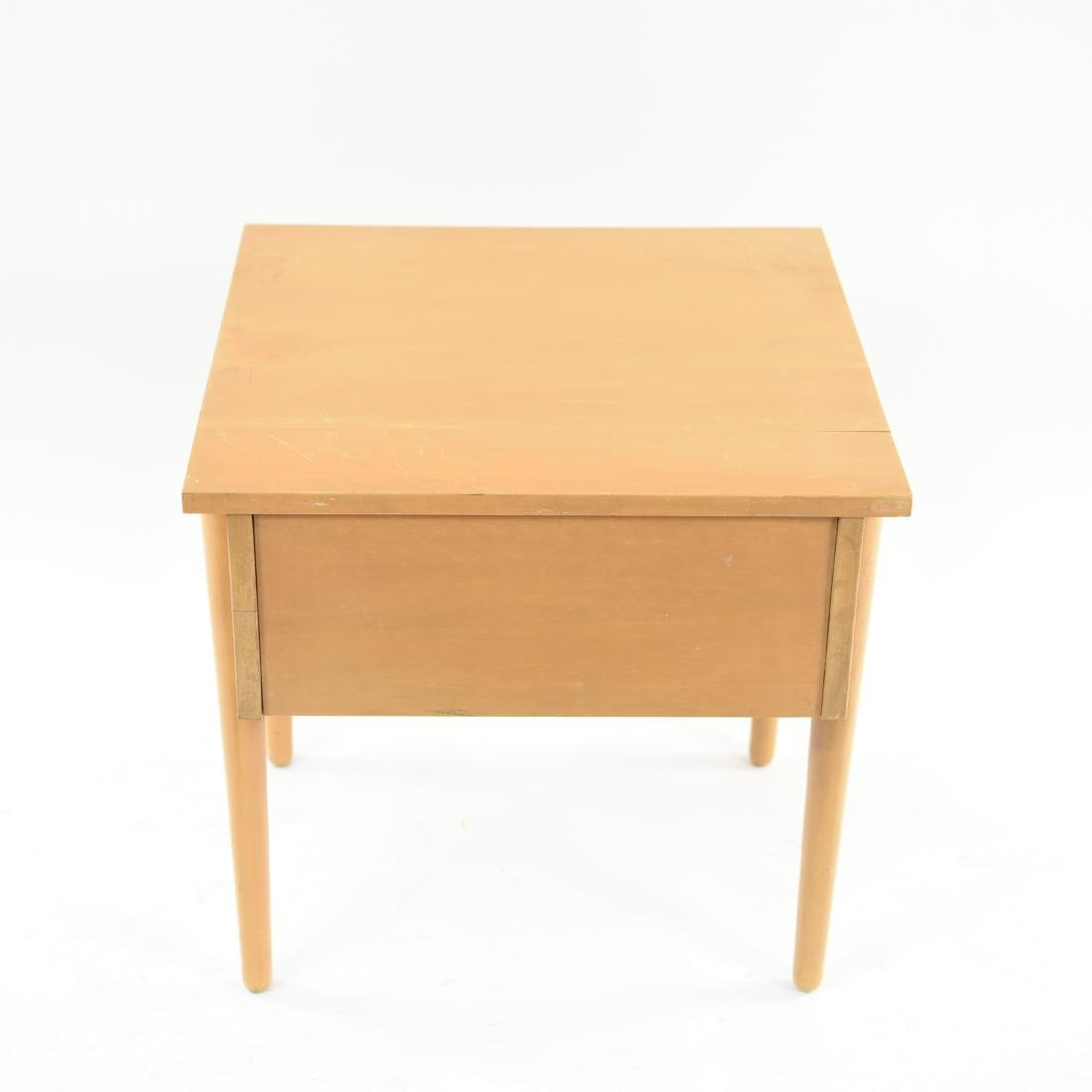 MID-CENTURY BIRCH SIDE TABLE - 10