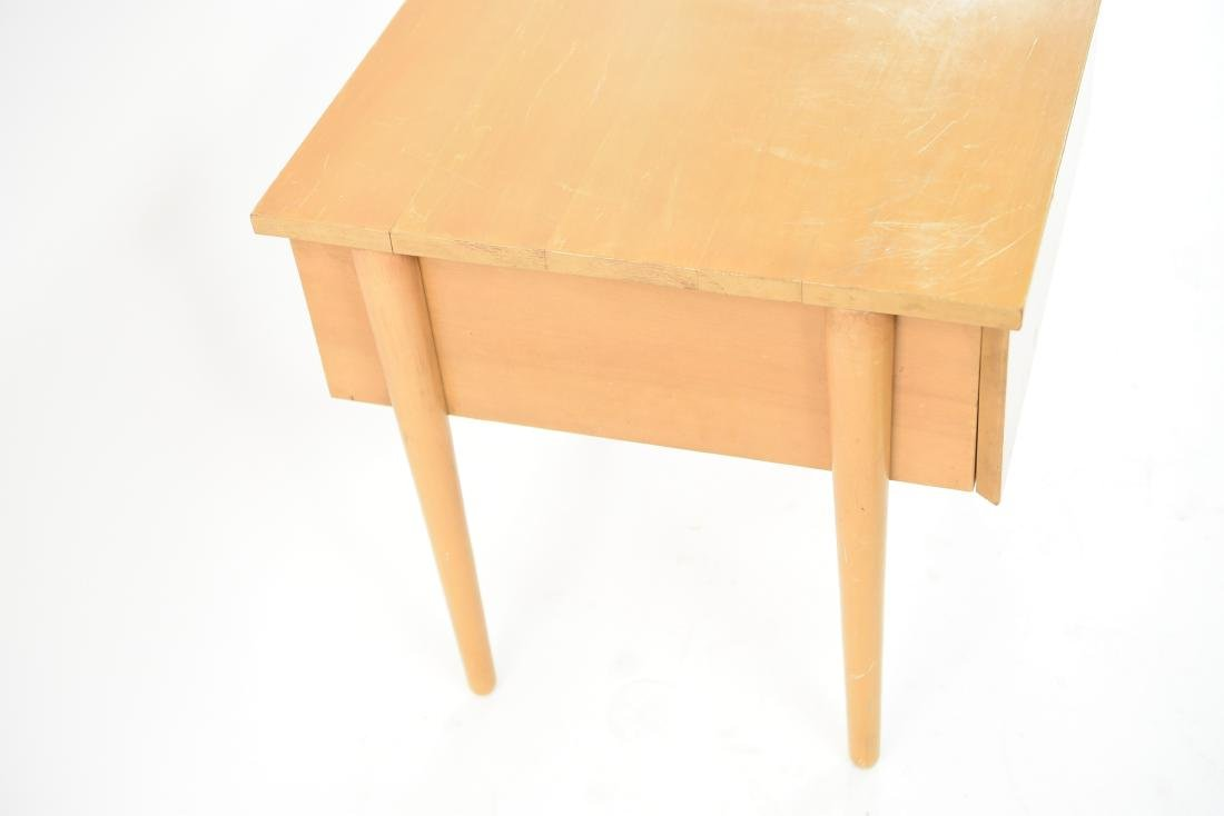 MID-CENTURY BIRCH SIDE TABLE - 8