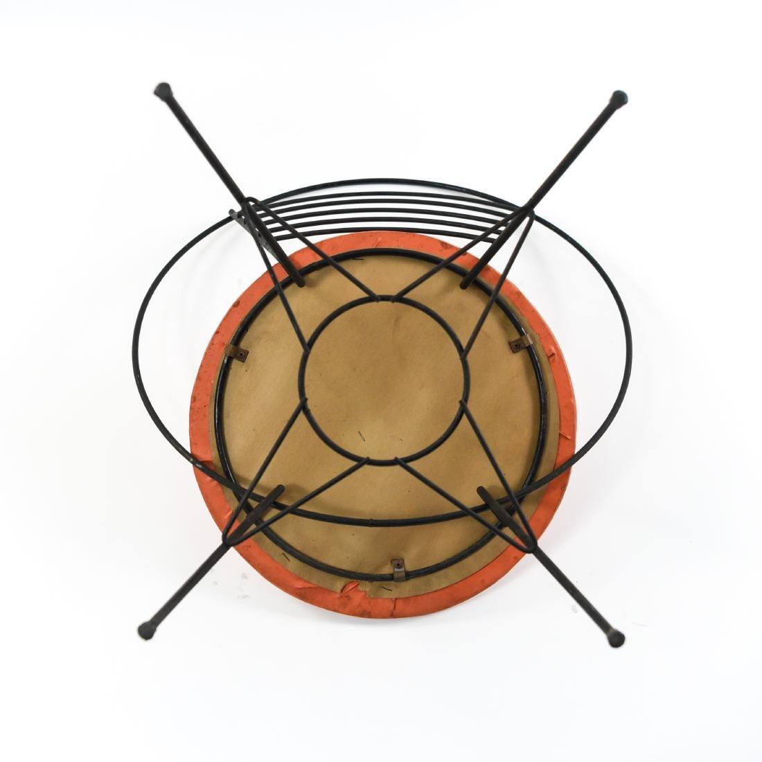 1950S MID-CENTURY IRON HOOP CHAIR - 6