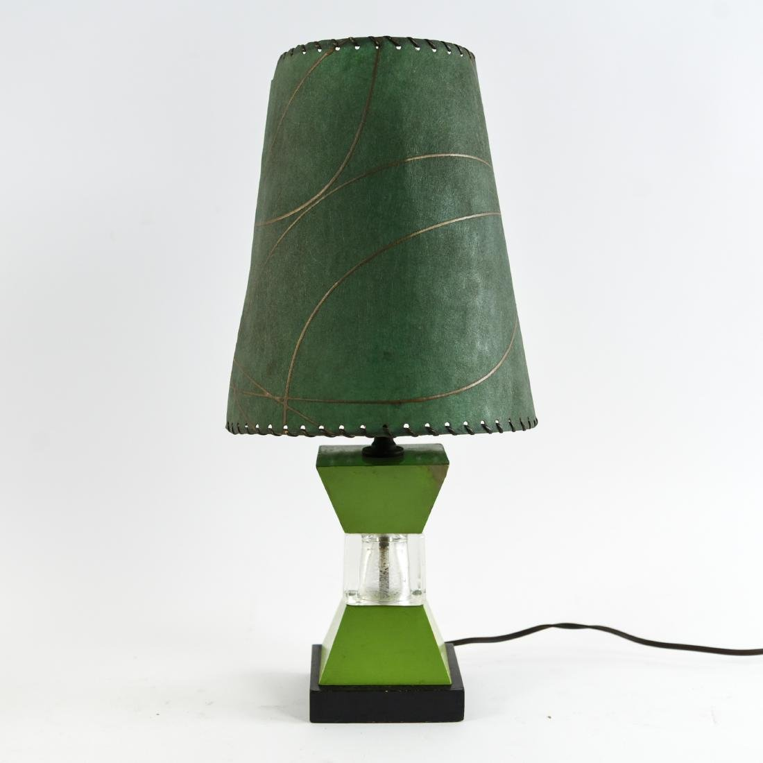 TWO MID-CENTURY LAMPS - 2