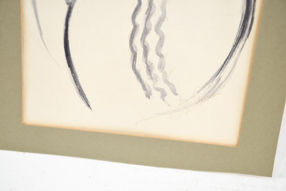 PEN & INK WASH OF RABBI - 5