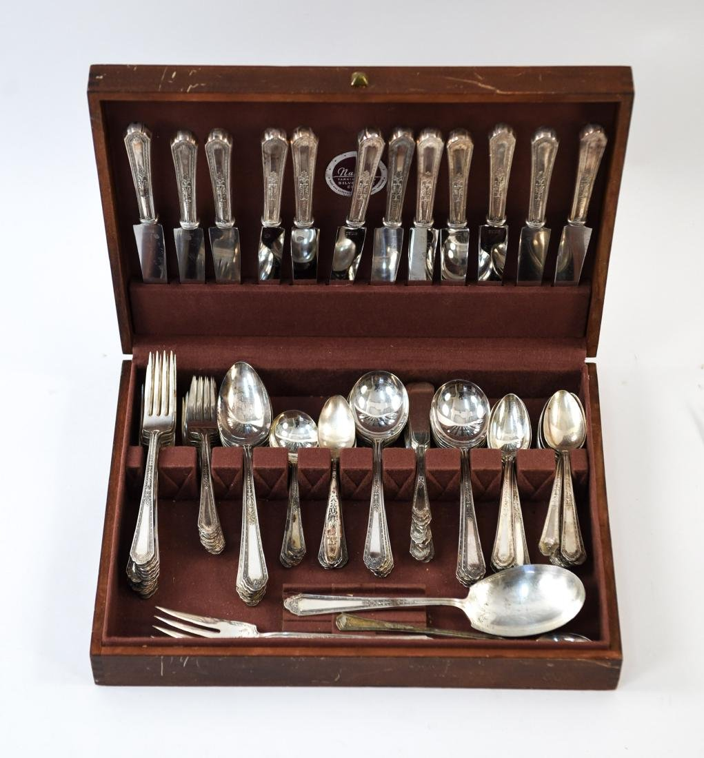 GROUPING OF SILVER PLATE FLATWARE - 2