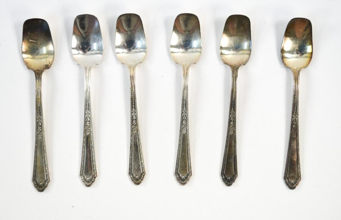 GROUPING OF SILVER PLATE FLATWARE - 4