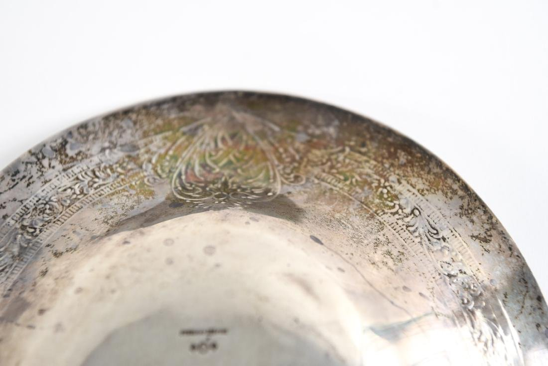 TWO STERLING SILVER DISHES - 8