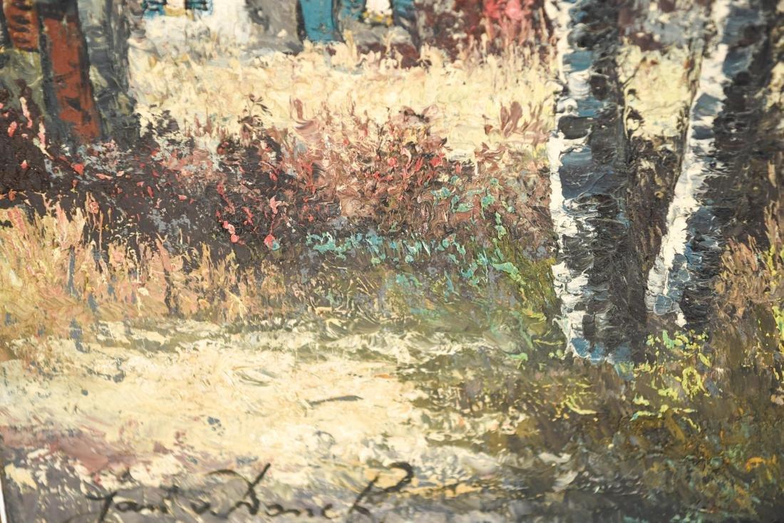 JAN VAN DONCK (20TH CENTURY) O/C - 10