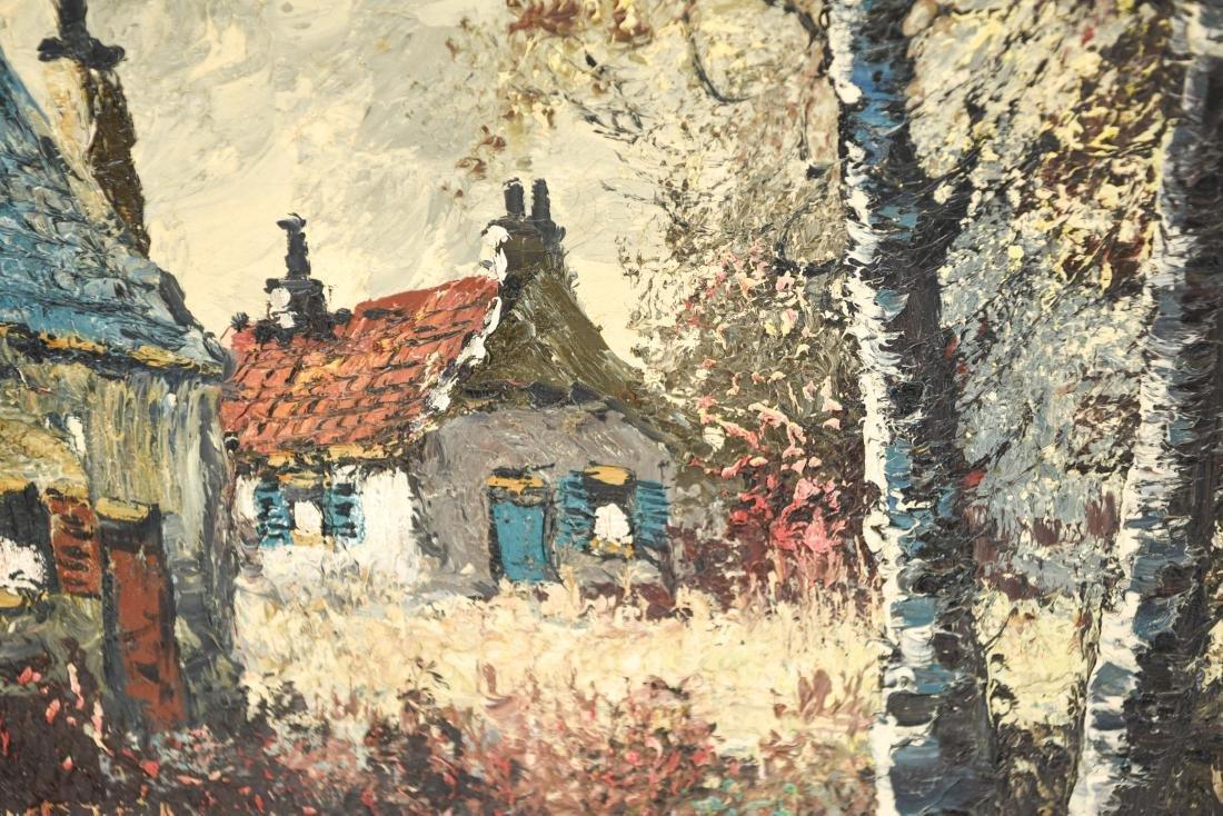 JAN VAN DONCK (20TH CENTURY) O/C - 9