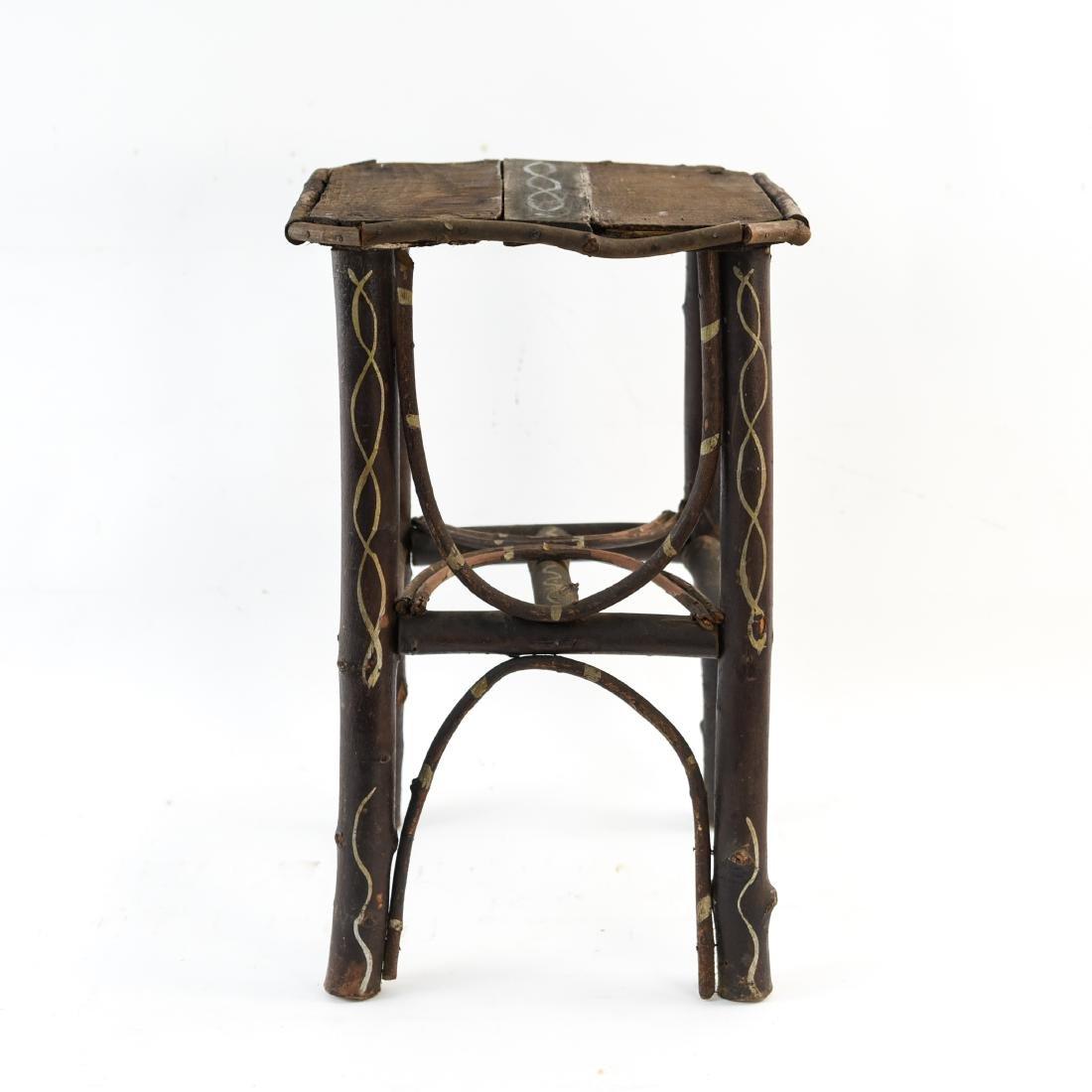 ADIRONDACK STYLE SIDE TABLE