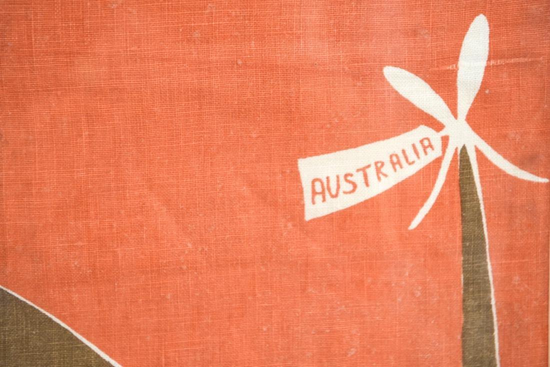 AUSTRALIAN LINEN PRINT - 4
