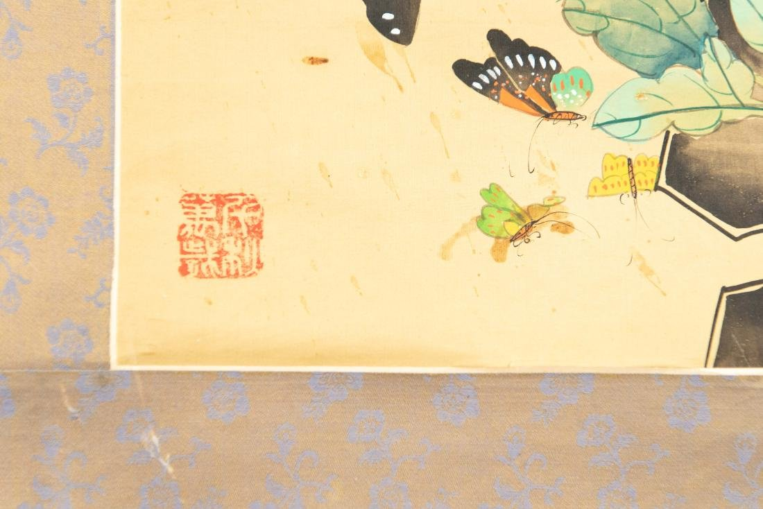 (2) MODERN CHINESE SCROLL PAINTINGS - 2