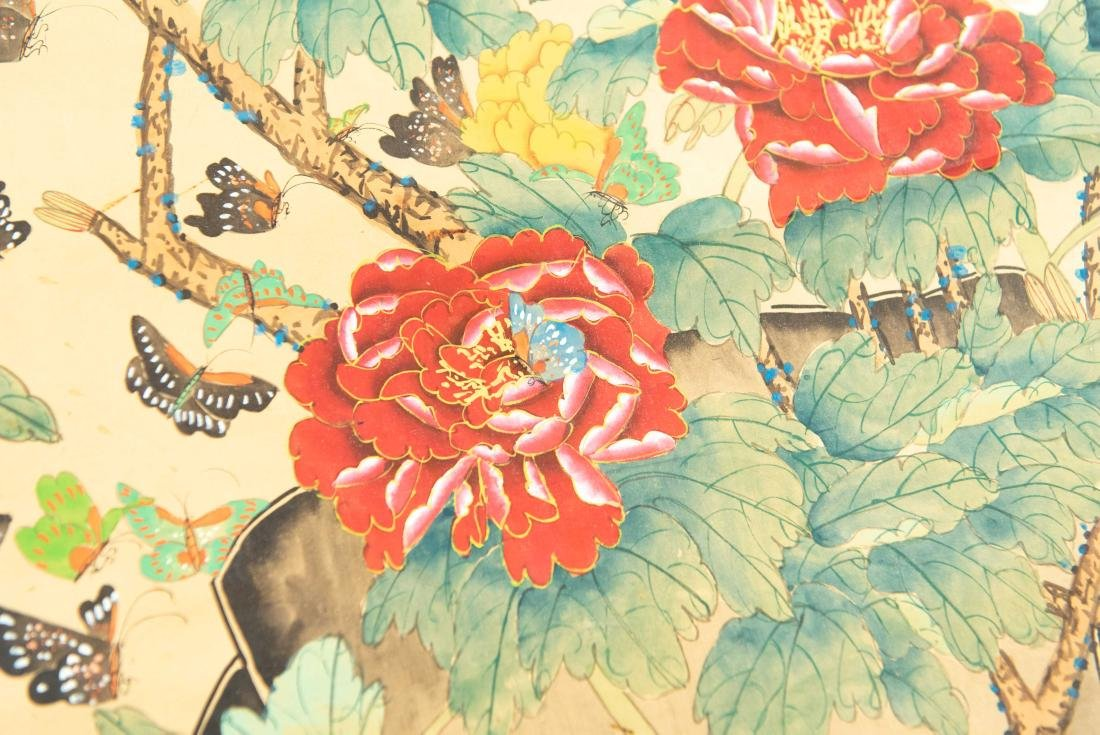 (2) MODERN CHINESE SCROLL PAINTINGS - 3