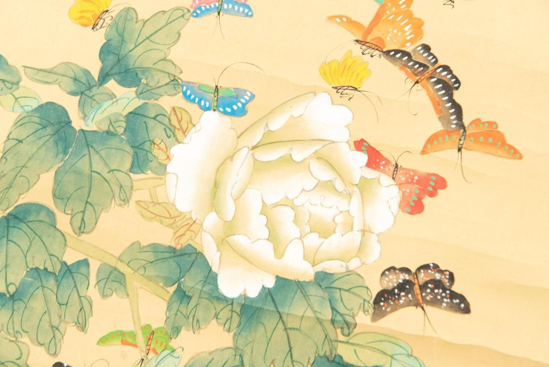 (2) MODERN CHINESE SCROLL PAINTINGS - 5