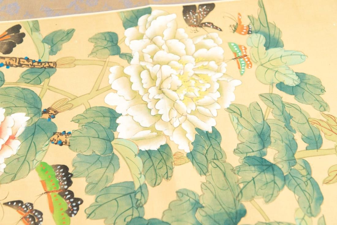 (2) MODERN CHINESE SCROLL PAINTINGS - 7