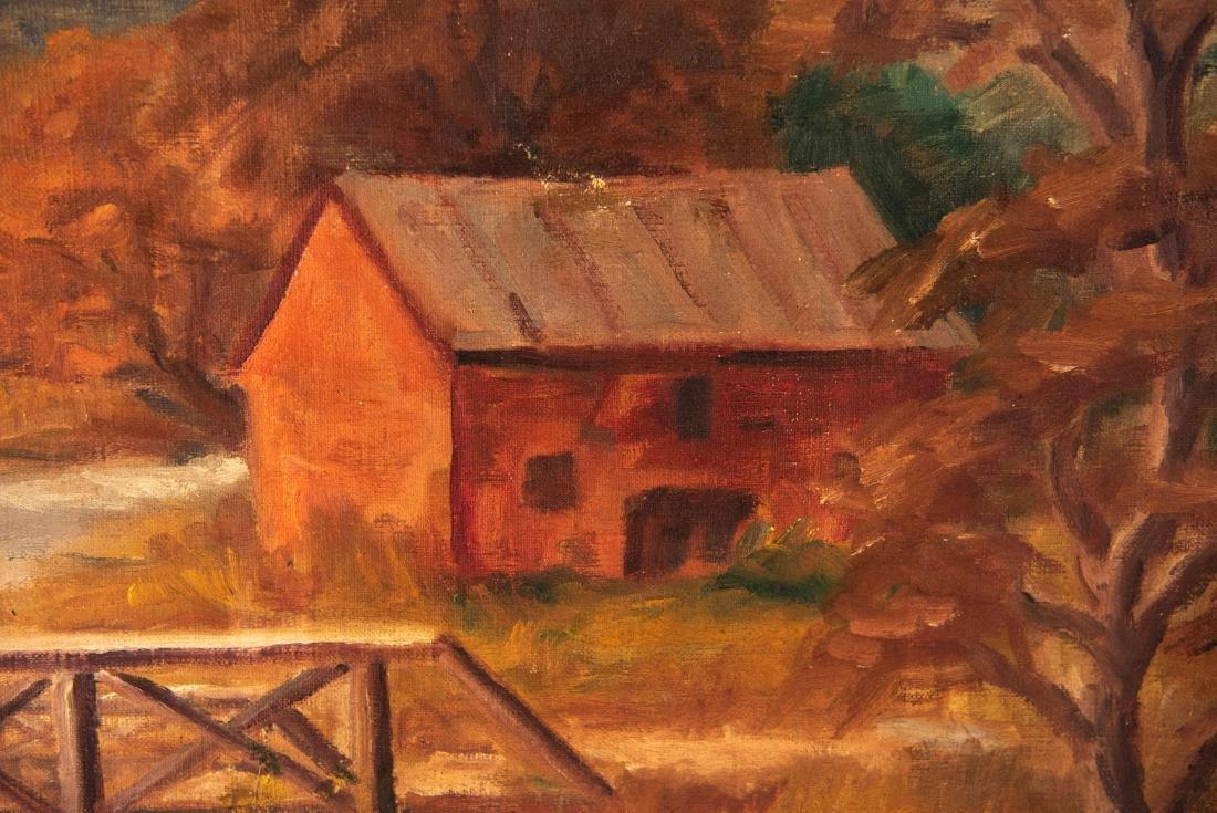 PAUL MELTSNER (AMERICAN 1905-1966) LANDSCAPE - 3