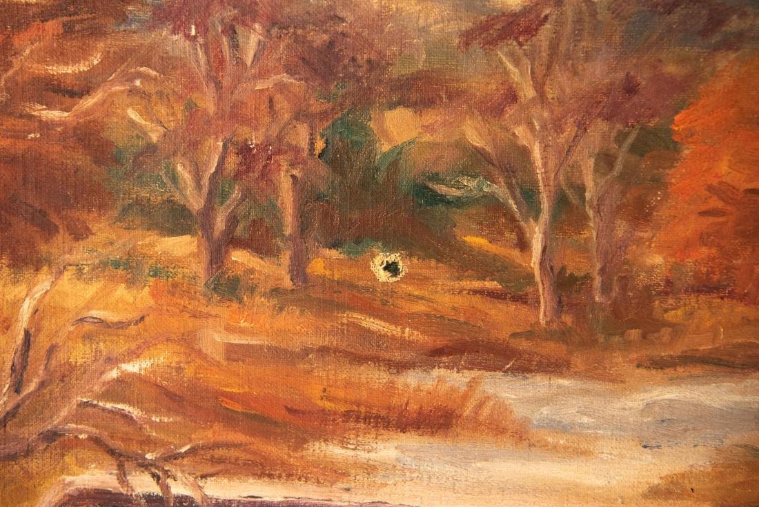 PAUL MELTSNER (AMERICAN 1905-1966) LANDSCAPE - 6