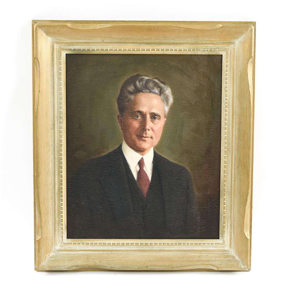 O/C PORTRAIT OF A MAN