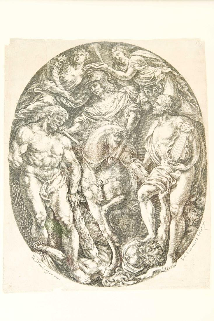 GEORG CHRISTOFF EIMMART (GERMANY 1638-1705) - 5