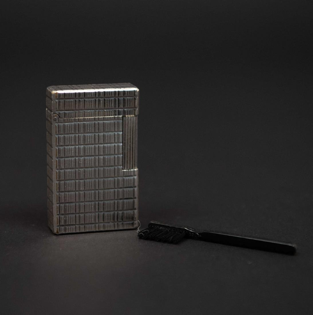 VINTAGE ST DUPONT SILVER PLATED LIGHTER