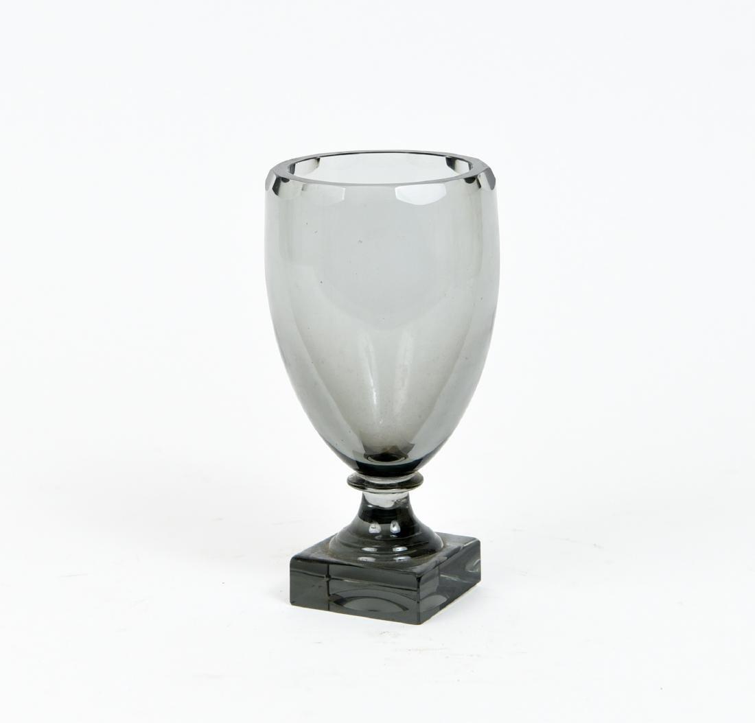 MOSER GLASS GOBLET OR CHALICE VASE