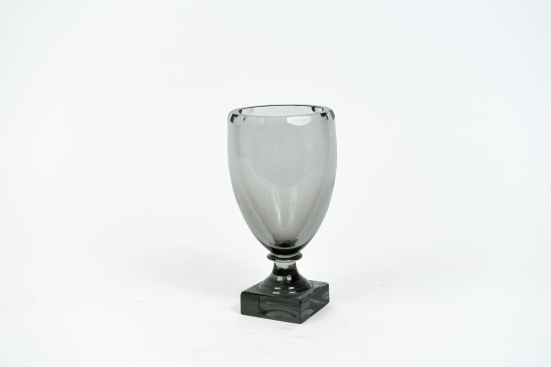 MOSER GLASS GOBLET OR CHALICE VASE - 2