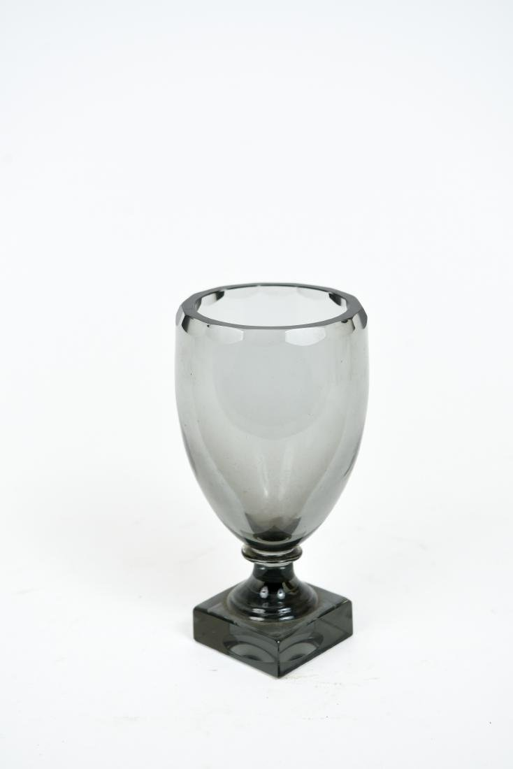 MOSER GLASS GOBLET OR CHALICE VASE - 3
