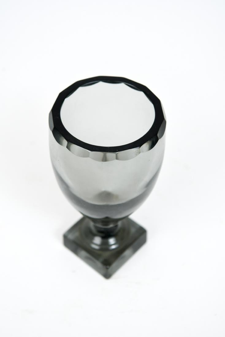 MOSER GLASS GOBLET OR CHALICE VASE - 4