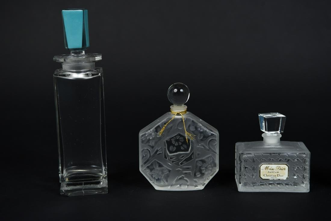 PERFUME BOTTLE GROUPING - 3