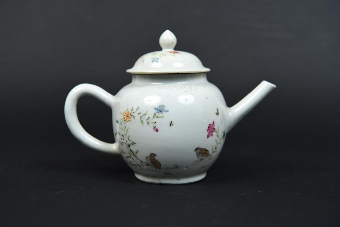 CHINESE EXPORT TEAPOT C. 1780