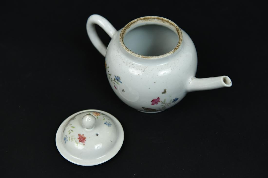 CHINESE EXPORT TEAPOT C. 1780 - 4
