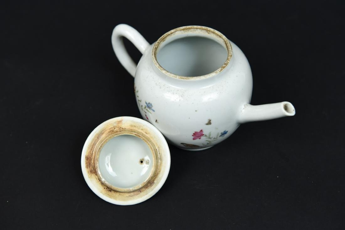 CHINESE EXPORT TEAPOT C. 1780 - 5
