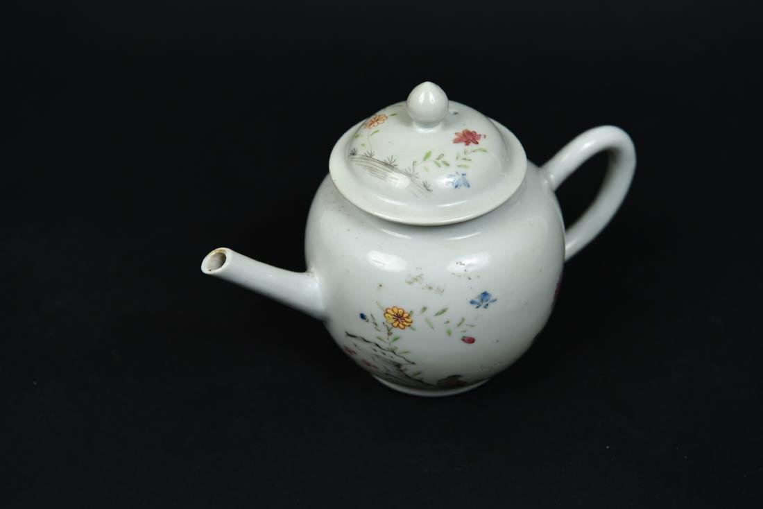 CHINESE EXPORT TEAPOT C. 1780 - 6