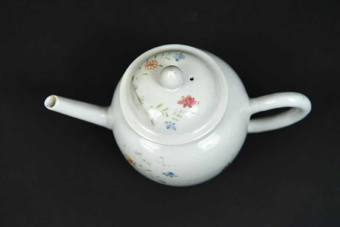 CHINESE EXPORT TEAPOT C. 1780 - 7
