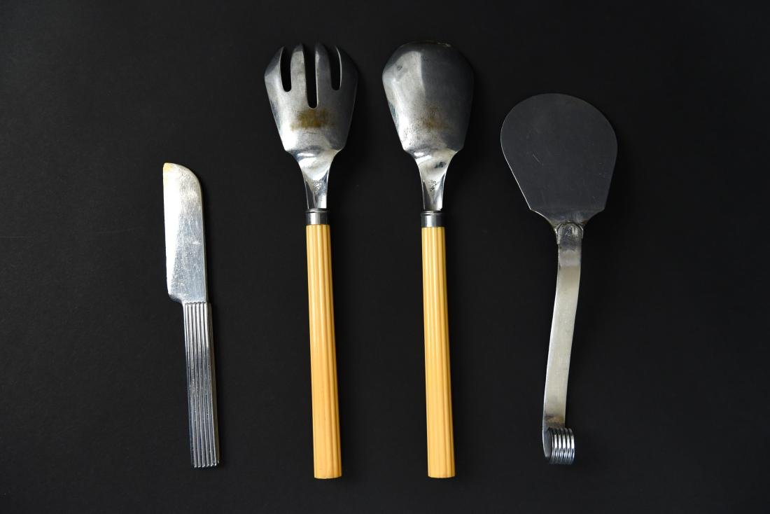 ART DECO CHASE SERVING WARE - 4