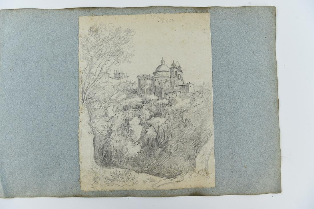 (12) LEAVES OF AN 1820'S/1930'S ITALIAN ART ALBUM - 10