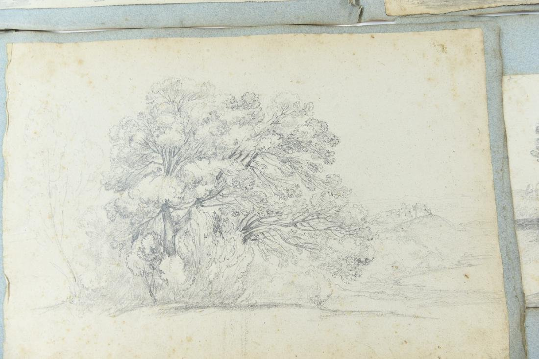 (12) LEAVES OF AN 1820'S/1930'S ITALIAN ART ALBUM - 5