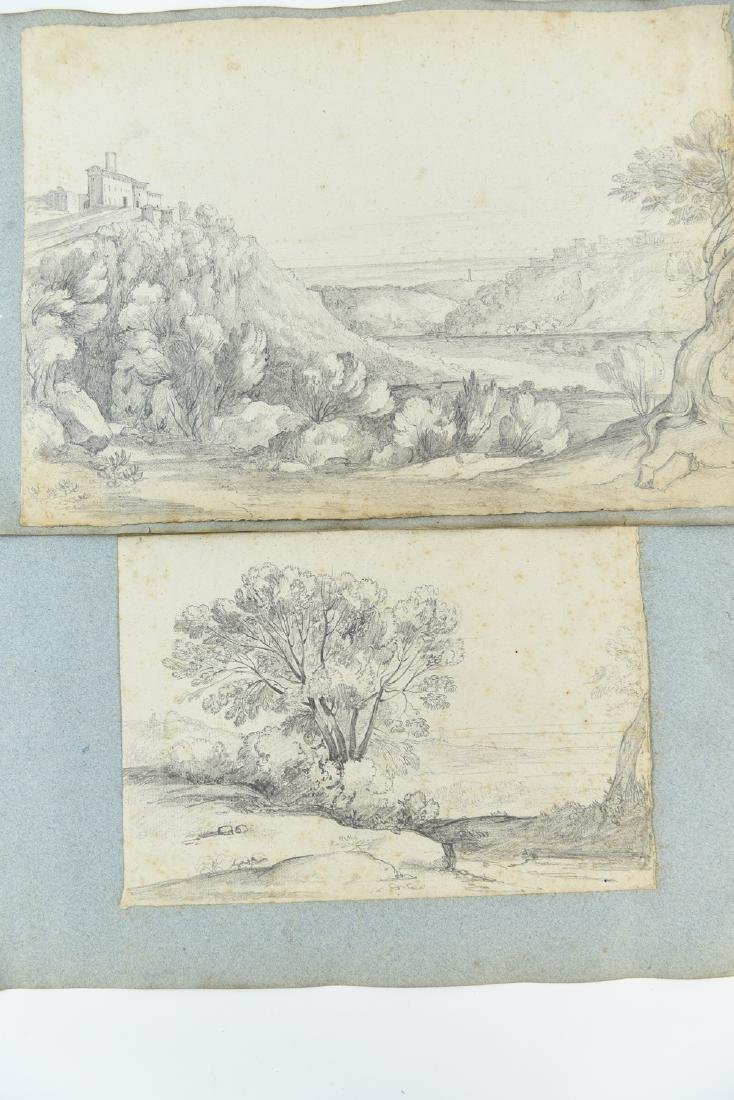 (12) LEAVES OF AN 1820'S/1930'S ITALIAN ART ALBUM - 7