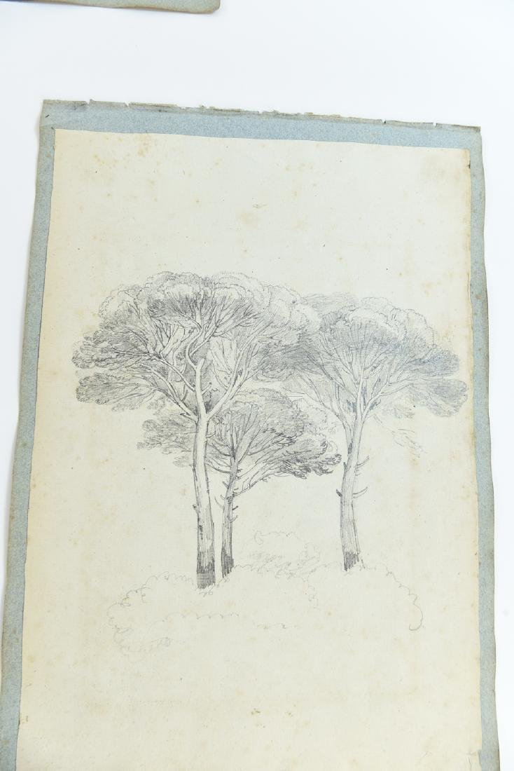(12) LEAVES OF AN 1820'S/1930'S ITALIAN ART ALBUM - 9