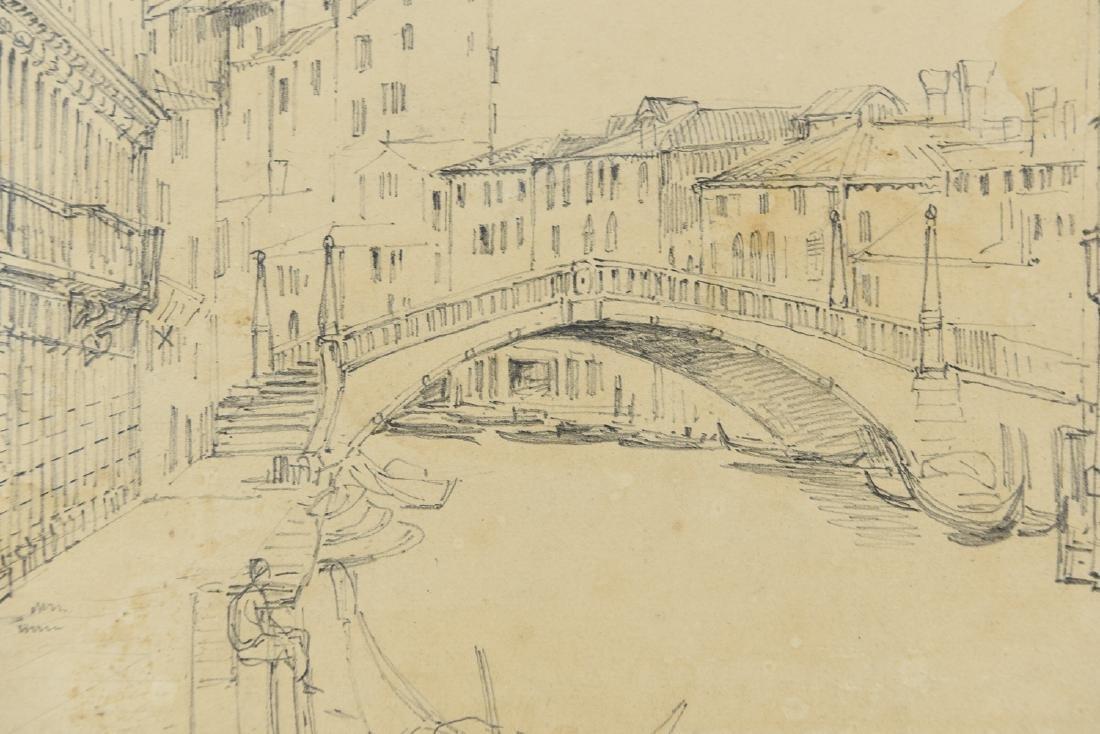 (3) LEAVES OF AN 1820'S/1930'S ITALIAN ART ALBUM - 5