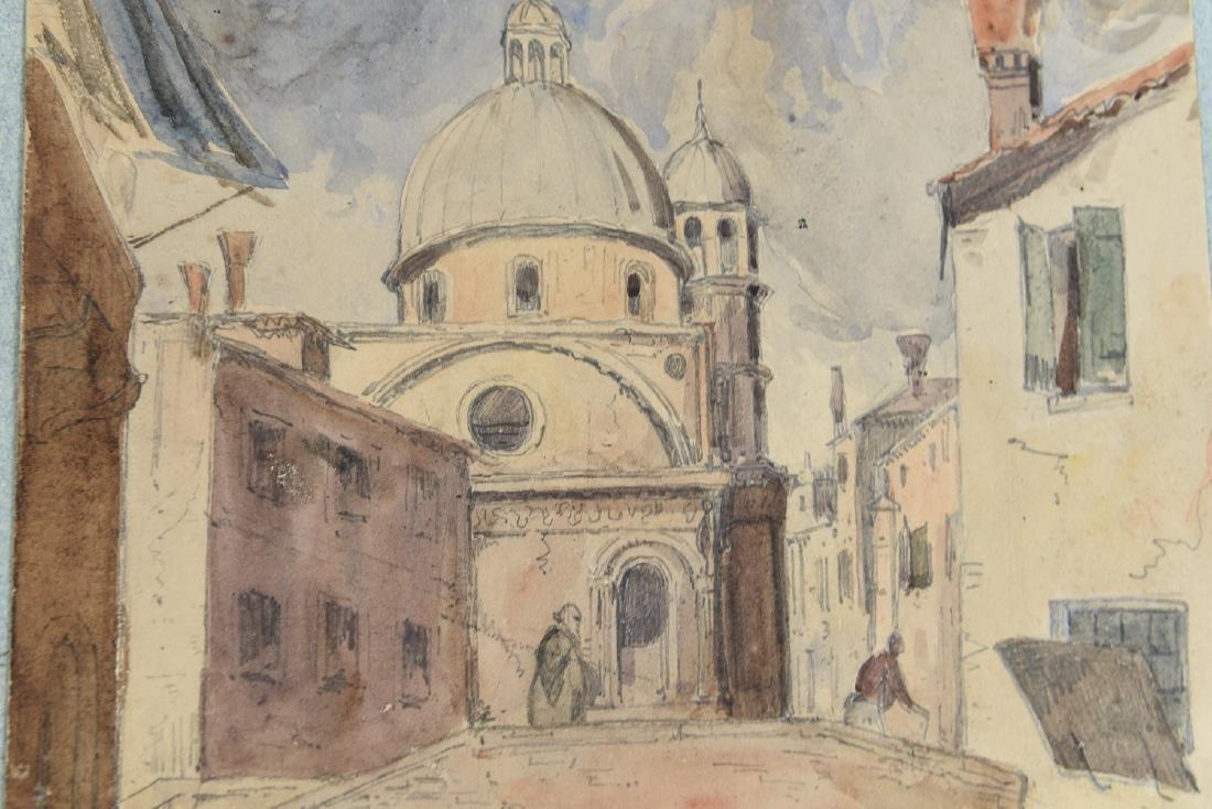 (3) LEAVES OF AN 1820'S/1930'S ITALIAN ART ALBUM - 7
