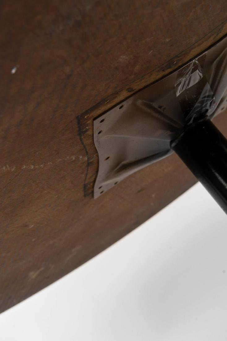 VINTAGE SAARINEN STYLE TULIP TABLE AND CHAIRS - 9