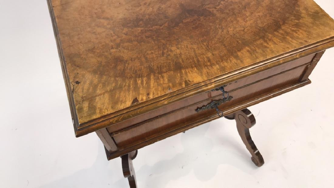 ANTIQUE SEWING TABLE - 2