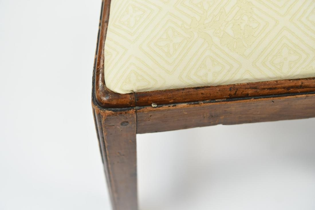 PAIR OF ENGLISH CARVED BACK SIDE CHAIRS - 3