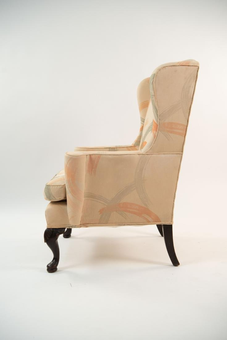 UPHOLSTERED WINGBACK ARMCHAIR - 10