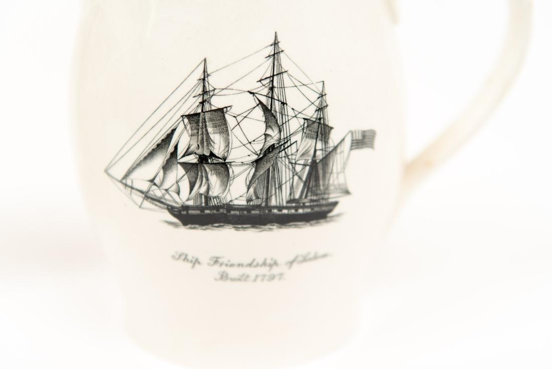 TWO ENGLISH COPELAND SPODE SHIP PITCHERS - 6