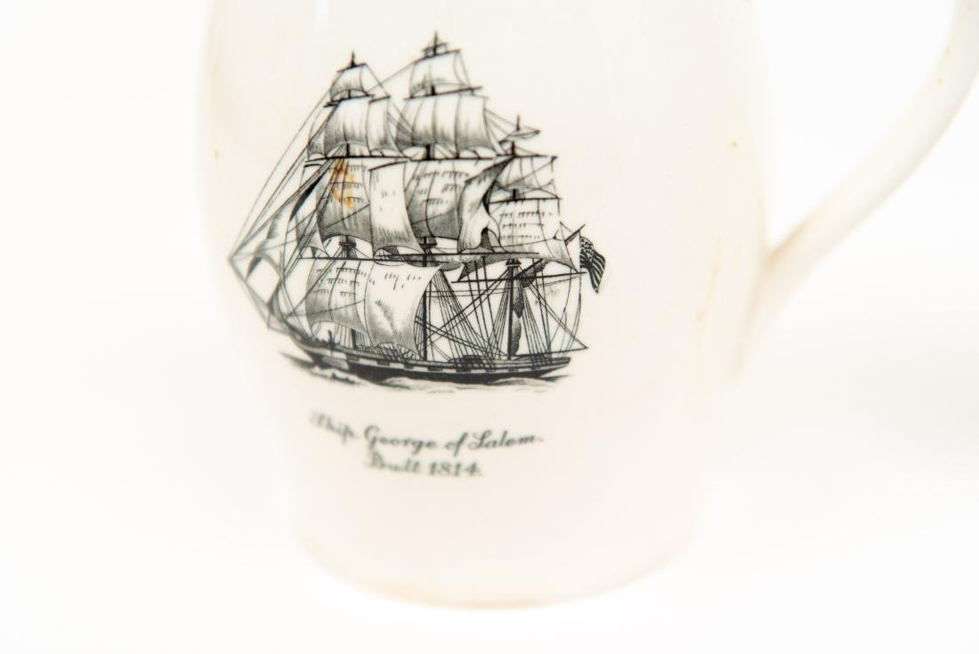 TWO ENGLISH COPELAND SPODE SHIP PITCHERS - 7