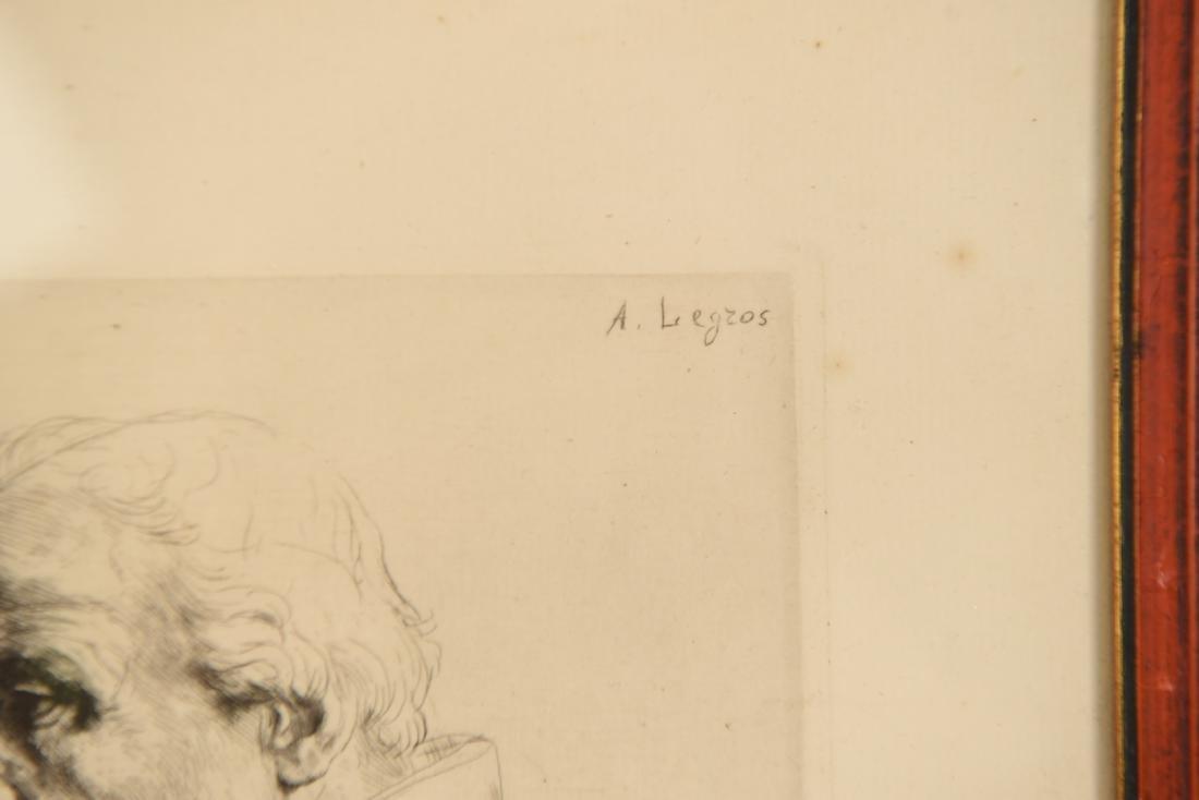 ALPHONSE LEGROS (1837 – 1911) ETCHING - 2
