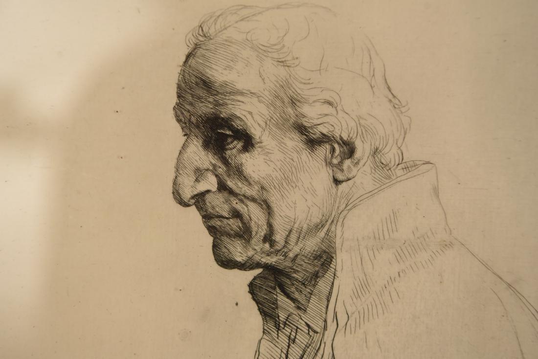 ALPHONSE LEGROS (1837 – 1911) ETCHING - 3